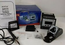 Aoyue 9378 Pro Series 60 Watt Programmable Digital Soldering Station see descrip
