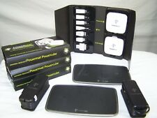 Powermat Charging Stations 2 Wireless Phone Game Tablet chargers 4 Adapters kits