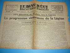 LEGION WALLONIE N° SPECIAL SUR LA MARCHE DU CAUCASE ETE 1942