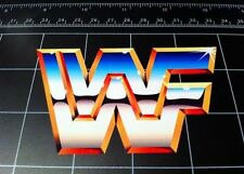 Old School 80's 90's WWF world wrestling federation decal sticker Retro WWE