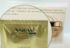 ~Avon~Anew Ultimate Night Multi-Performance Cream~10 Samples Total~NEW~