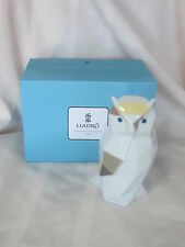 NEW LLADRO OWL #9265 BRAND NEW IN BOX COLORFUL WISE CUTE FREE SHIPPING