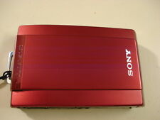 LikeNew SONY CyberShot DSC-T300 10MP Digital Camera - Red