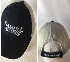 Samuel Adams Beer Hat Cap Spellout For The Love Of Beer Adjustable Mesh