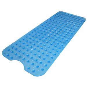 Non-Slip Extra Long Bath Shower Mat Suction Grip 30% Longer Pukkr