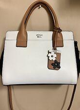 NWT GUESS Salma White Multi Satchel Bag VY650205