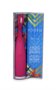 Forea Issa Play Silicone Electric Toothbrush Wild Strawberry Pink New & Sealed