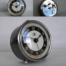 Vintage Soviet Desc Alarm clock * Yerevan * Ереван 1957 Nice chrome decoration