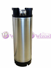 Brand New 19L Ball Lock Cornelius Beer Keg Stainless Steel