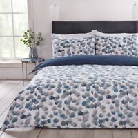 Luxury Nordic Floral Bedding Duvet Cover and Pillowcase Set Single Double King