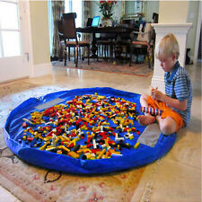 Kids Children Toy Organizer Playing Storage Bag Play Mat For Lego Rug XL 150cm