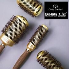 olivia garden hair brushes nanothermic ceramic + ion round thermal high quality