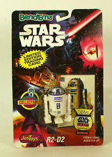 Star Wars Just Toys Bend Ems R2-D2 MOC Topps Card Limited