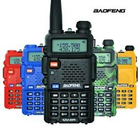 BAOFENG UV-5R Dual-Band VHF/UHF Two Way Radio with FM Protable 5W Transmitter