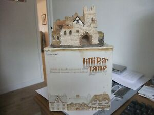 Superb Lilliput Lane Cottage Castle Street 2nd Version 1984 English Collection
