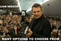 Liam Neeson Movies -Many options to choose from- DVD or Bluray or 4K w Free Ship