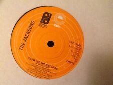 THE JACKSONS . SHOW YOU THE WAY TO GO .  U.K. CLASSIC DISCO  1976
