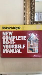 New Complete Do-It-Yourself Manual by Reader's Digest (Hardback, 1991)