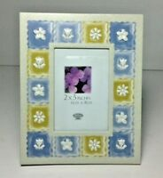 "La Vie Picture Photo Frame Flowers 2"" X 3"" Easel Back"