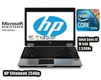 Notebook HP Elitebook 2540p PC PORTATILE  i5 M540 2.53GHz Senza Ram, HDD, Alimen
