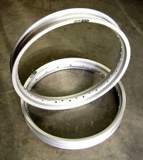 "NORTON Alloy rims front drum 19"" WM2 rear 18"" WM3 SUN RIMS"