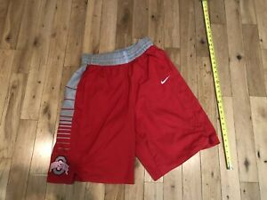 Ohio State Buckeyes Authentic On Court Sewn Game Used Basketball Shorts