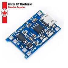 3.7V Lithium Battery Micro Charger USB 5V 1A 18650 TP4056  Module #133