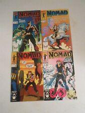 Marvel Nomad #1-4 (Set) Mini Series Captain America