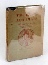 First Edition 1926 The Dragon Of The Alchemists Frederick Carter Hardcover w/DJ