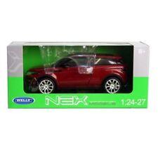 Welly Nex PRESSOFUSO 1:24 RANGE ROVER EVOQUE rosso - 24021w/09092