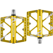 "ROCKBROS Fahrradpedale 3 Bearing Geeignet Für MTB/ BMX/ Downhill-Bike 9/16"" Gold"