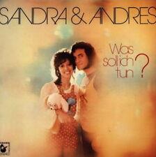 """12"""" Sandra & Andres Was soll ich tun? (Wenn der Zigeuner lacht) 70`s Hansa"""