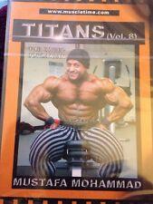 Titans Mustafa Mohammad Bodybuilding DVD Brand New And Sealed!
