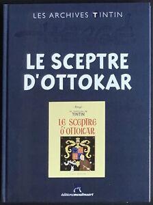 TINTIN Le Sceptre d'Ottokar n&b Archives Tintin Éditions Atlas Neuf sous blister
