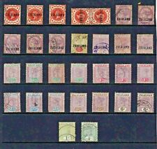 South Africa ZULULAND Stamp COLLECTION Victorian Issues REF:QT352a