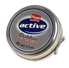 Punch Active Dubbin neutro 50 ML TIN impermeabilizza in Pelle Scarpa & Scarpone Cera