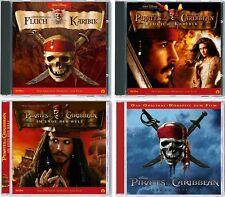 4 CDs * FLUCH DER KARIBIK - HÖRSPIEL ZUM FILM 1 - 4 IM SET - Disney # NEU OVP KX