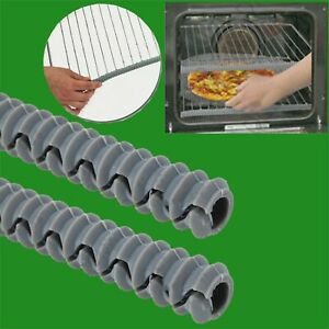 2x Heat Insulated Silicon Oven & Cooker Shelf Guard Arm Hand Protector Easy Fit
