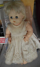 "Vintage 1959 Effanbee Vinyl Blonde Character Girl Doll 14"" Tall"