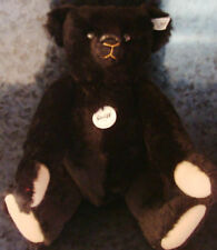 STEIFF 1907 REPLICA MOHAIR TEDDY BEAR LIMITED EDITION Antique Vintage Style Toy