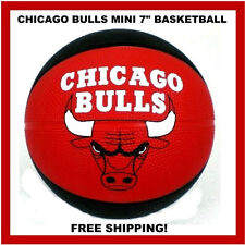 Chicago Bulls Mini Basketball 7 Inch Spalding - St. Paul Federal Bank Promo Ball