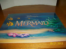 Disney's The Little Mermaid Exclusive Lithograph Portfolio Set of four
