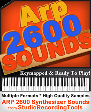 ARP 2600 SYNTH SOUNDS Propellerheads REASON NNXT REFILL Exs 24 WAV Sample CD Rom
