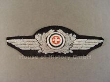 2507 Luftwaffe: Schirmmützenschwinge für Schirmmütze, RESERVE-OFFIZIER, selten