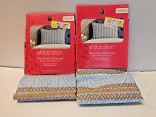 Lot Of 2 xhilaration Standard Microfiber Pillowcase Asst Designer Pattern 674