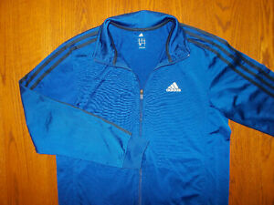 ADIDAS FULL ZIP ROYAL BLUE ATHELTIC JACKET MENS MEDIUM EXCELLENT CONDITION