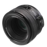 Yongnuo YN 50mm f/1.8 Large Aperture Auto Manual Focus Lens fr Nikon Camera DSLR