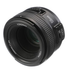 YONGNUO YN 50mm F/1.8 Large Aperture Auto Manual Focus Lens FR Nikon Camera DSLR