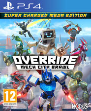 & Override Mech City Brawl Super Charged Sony PlayStation 4 Ps4 Game