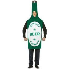Beer Bottle Costume Adult Halloween Fancy Dress